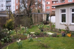 Es geht los! Unser Garten wird am 28.03.2008 für das Jahr vorbereitet.